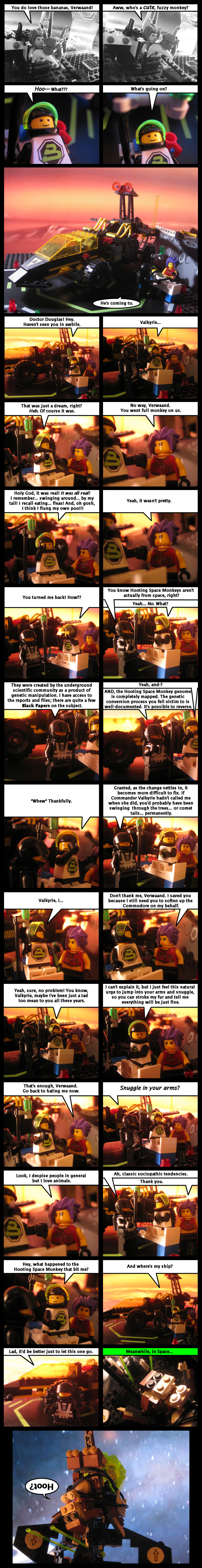 Revenge Of The Hooting Space Monkeys Part 15