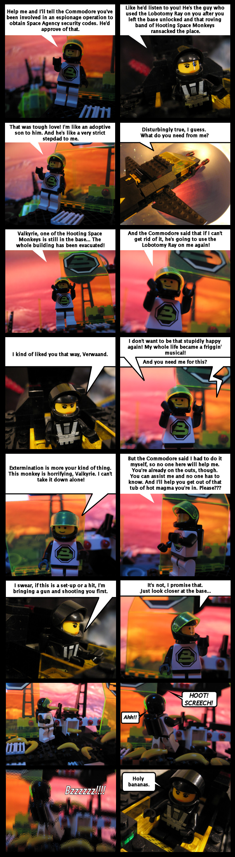 Revenge Of The Hooting Space Monkeys Part 2