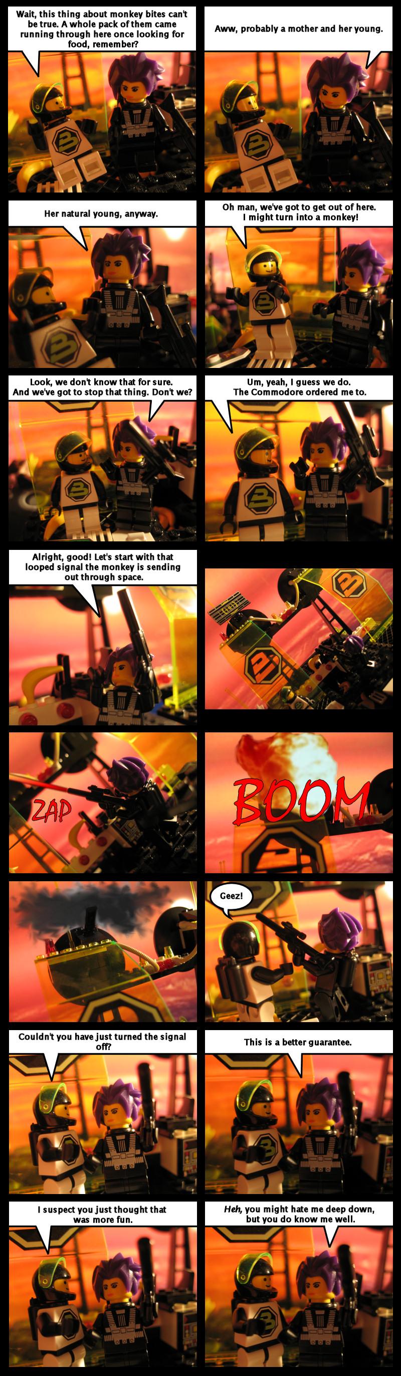 Revenge Of The Hooting Space Monkeys Part 8